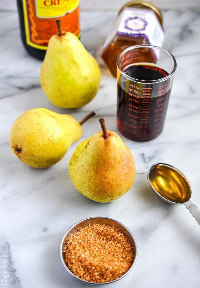 Sous Vide Marsala Poached Pears-4-2 - I Sugar Coat It