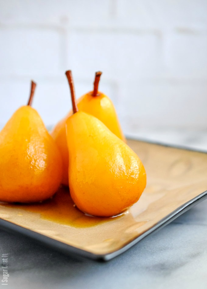 Sous Vide Marsala Poached Pears-9 - I Sugar Coat It